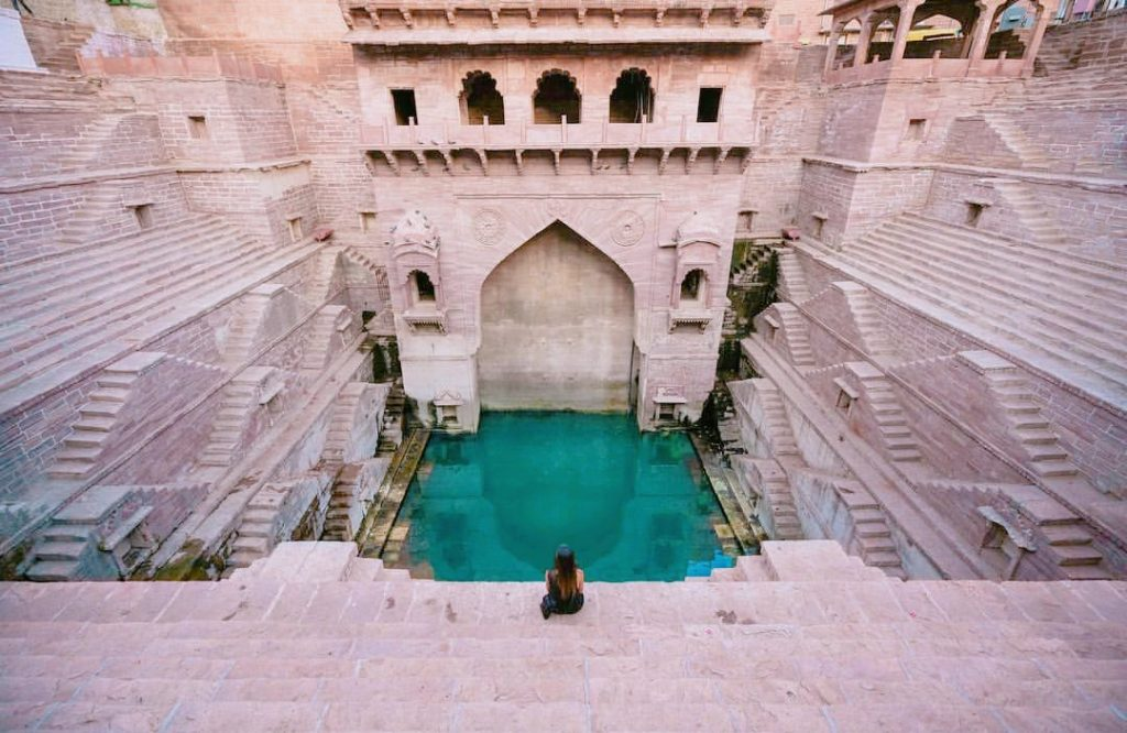 19 Jodhpur step well